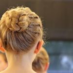 Ballettfrisur